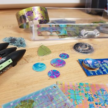 Anodised Aluminium jewellery workshop - 20th Apr