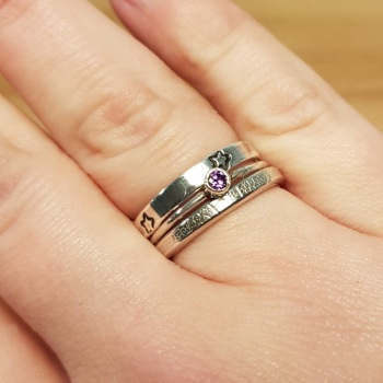 Stacker Ring workshop with tube setting - 7th Mar 2020