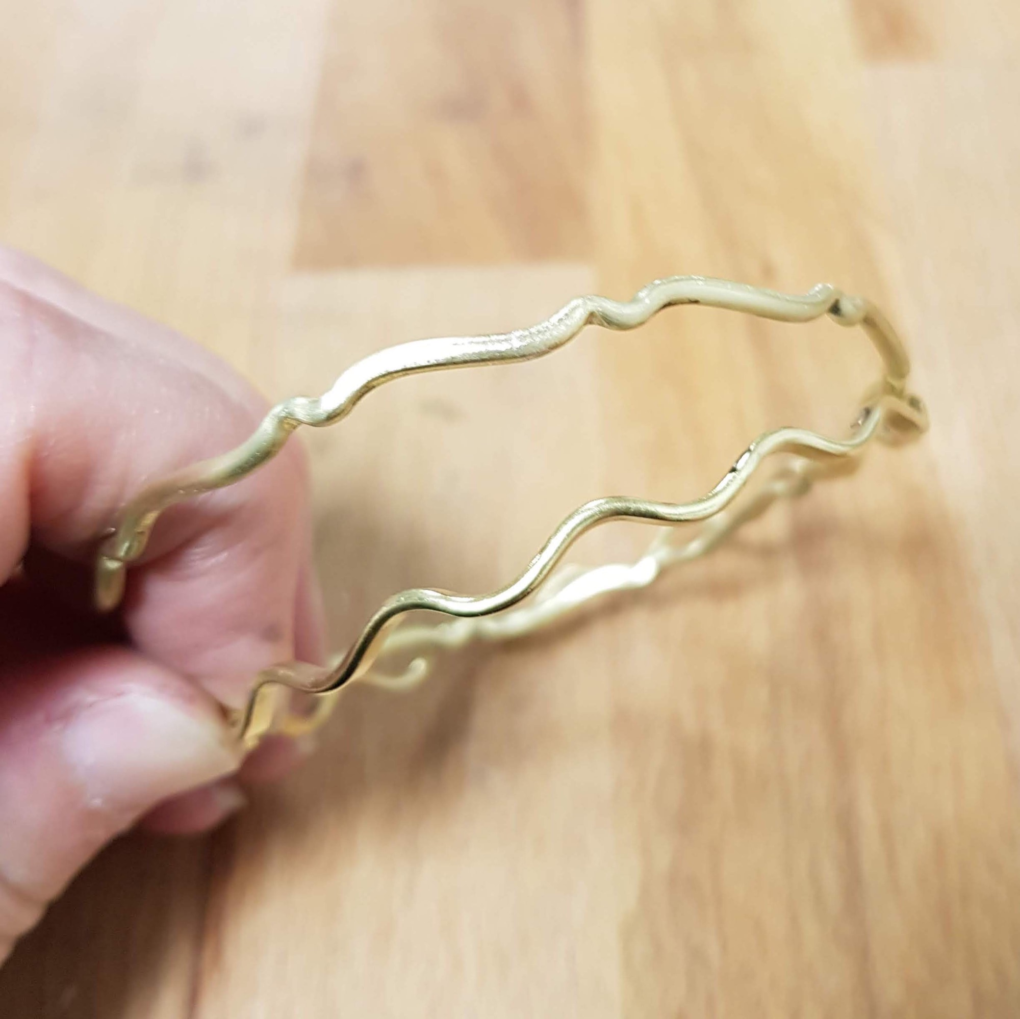 Learn how to make a bangle jewellery workshop
