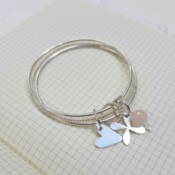 Silver Charm bangle workshop - 16th May 2020