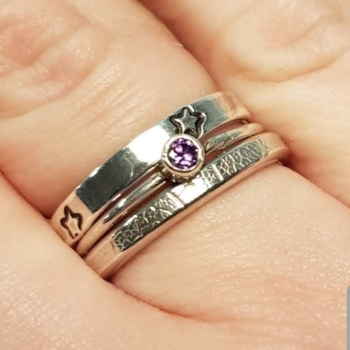Stacker Ring workshop with tube setting - 8th May 2021