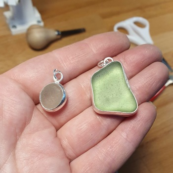 Seaglass setting workshop - 3rd Jul 2021