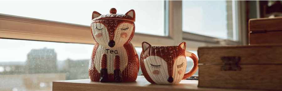 Fox tea and mug