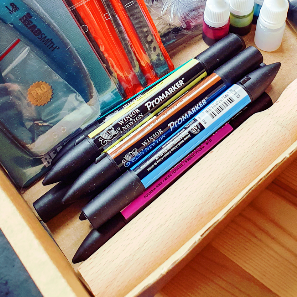 6x Alcohol Markers