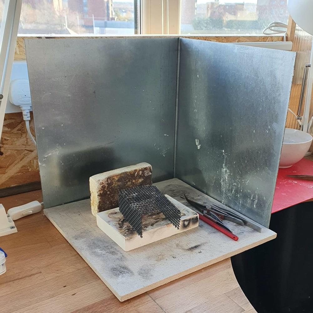 Metal heat shield