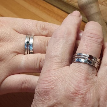 Stacker Ring workshop with tube setting - 14th Aug 2021