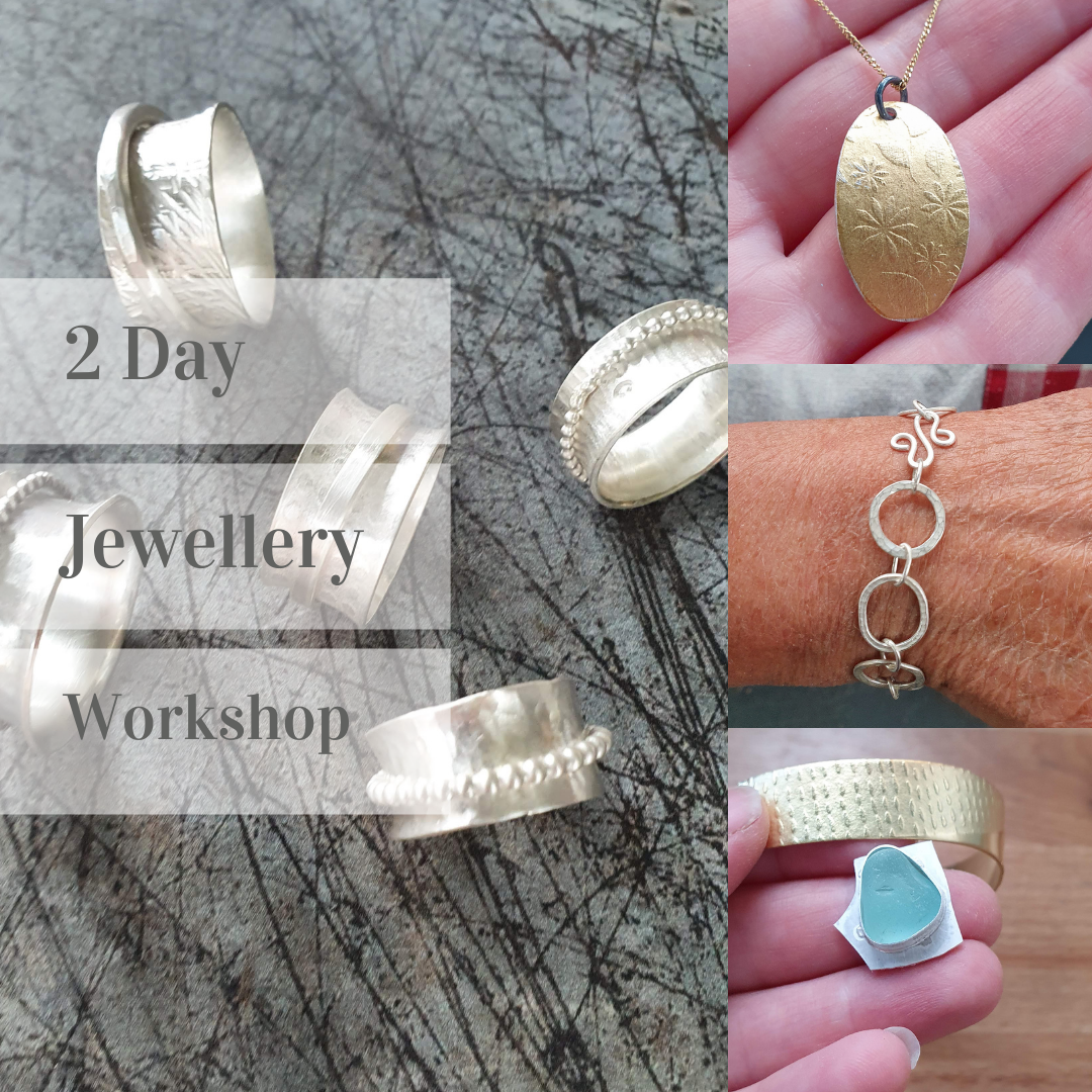 2 Day jewellery Workshop - 30th & 31st Oct 2021