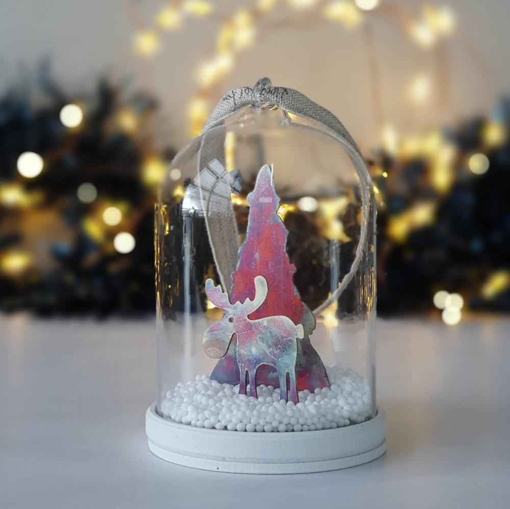 Merry Chrismoose Tree Bauble