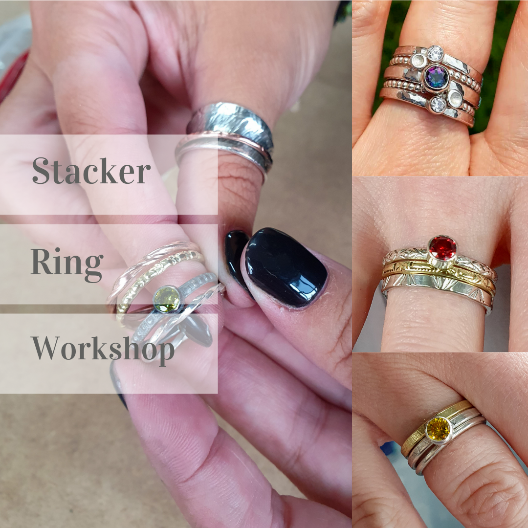 <!-- 008 -->Stacker Ring workshop with tube setting - 26th Mar 2022