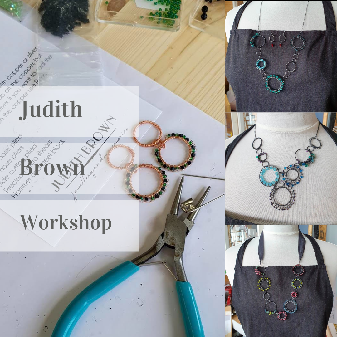 <!-- 006 -->Wire Jewellery Workshop with Judith Brown - 6th Mar 2022