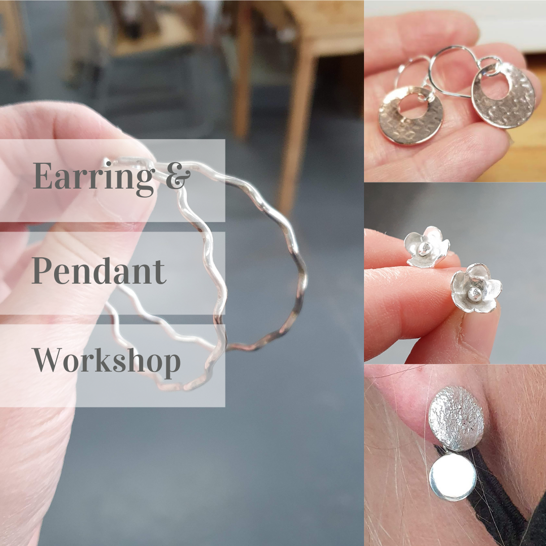 <!-- 009 -->Earring and Pendant workshop - 9th Apr 2022