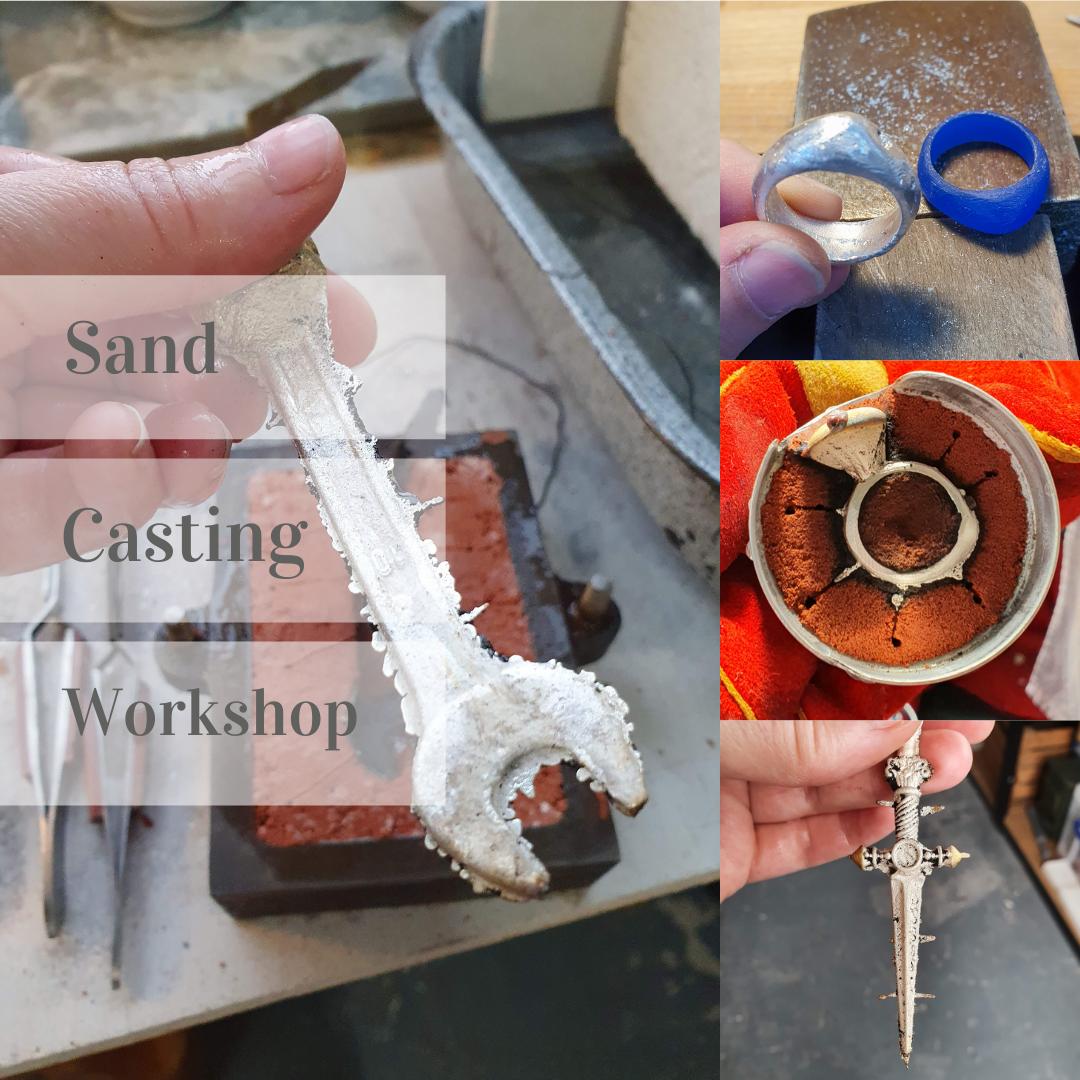 Sand casting workshop - 23rd Apr 2022