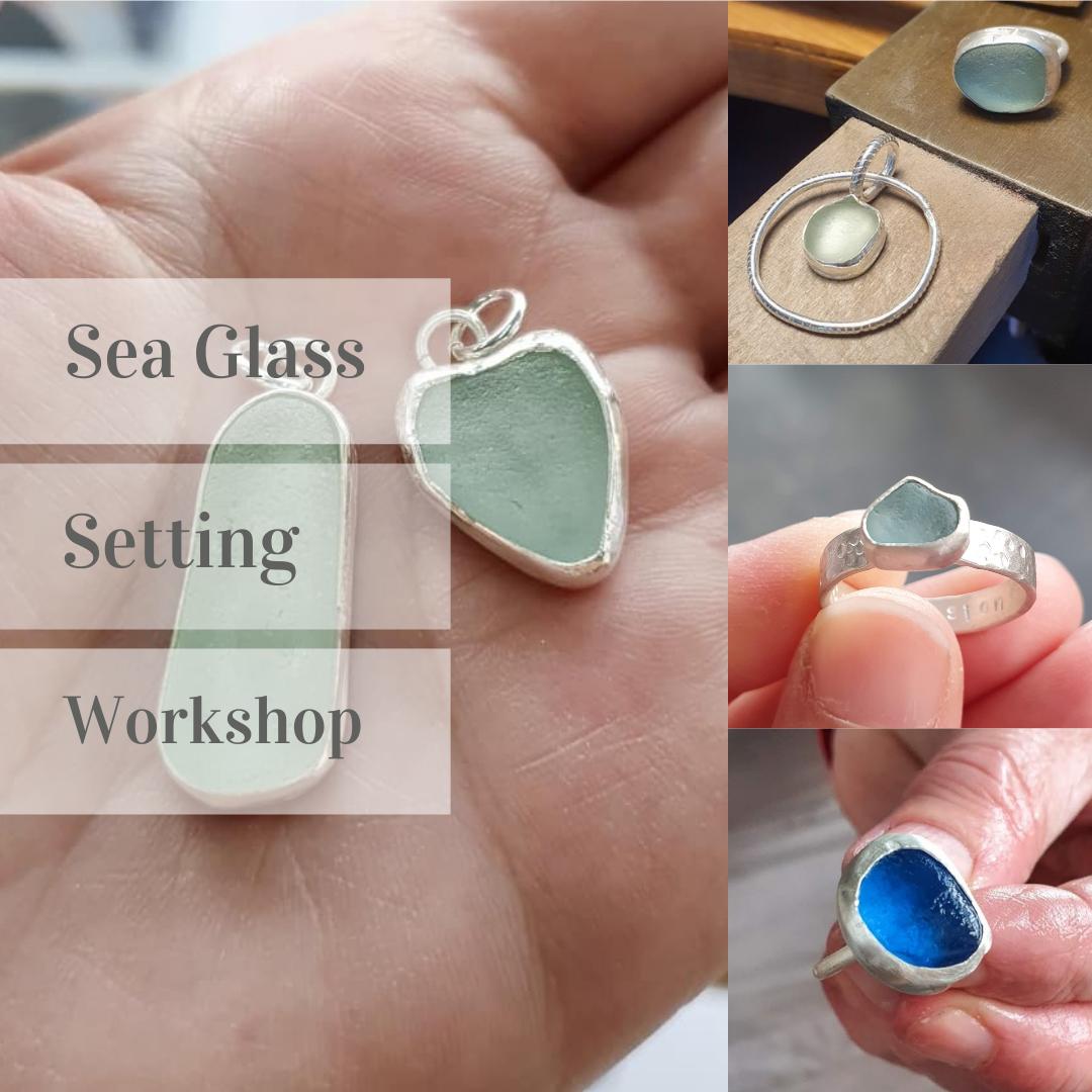 3 - Bezel setting Sea Glass or Gemstone workshop - 29th Jan 2022