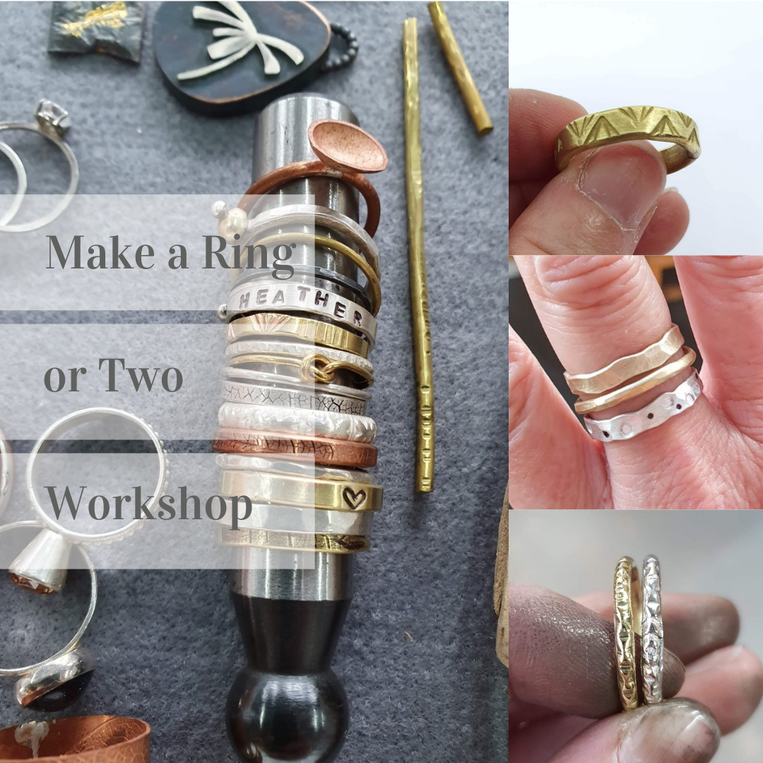 Jewellery Taster session - make a ring (or two) - 1st Nov 2021