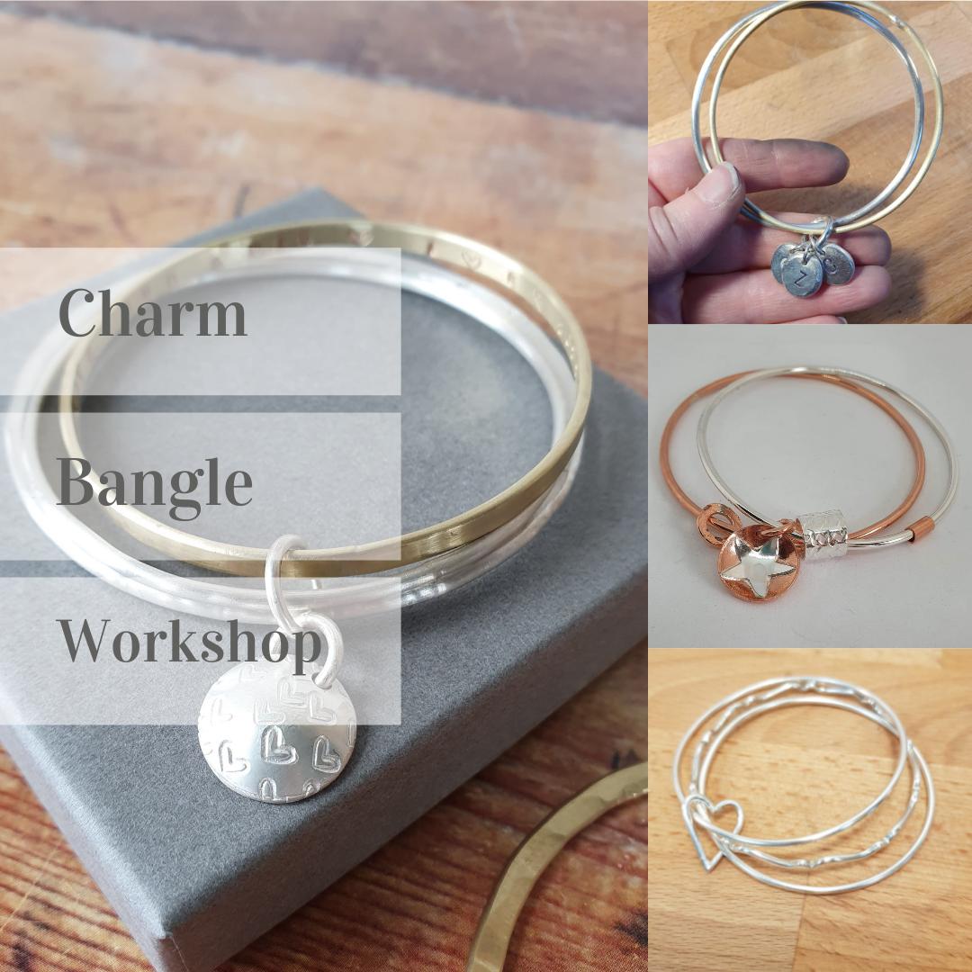4 - Silver Charm bangle workshop - 30th Jan 2022