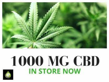 1000 MG CBD Vape Liquid - Our Highest Strength CBD