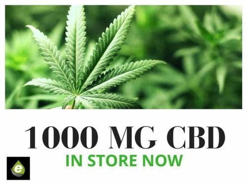 1000 MG CBD Vape Liquid - Our Highest Strength