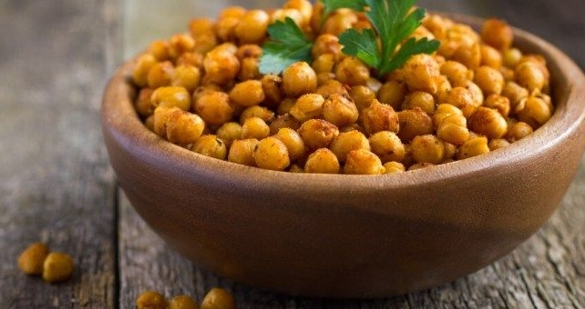 Crispy Roasted Chickpeas Three Ways