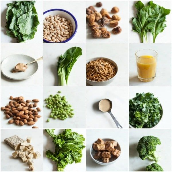 Vegan Sources of Calcium