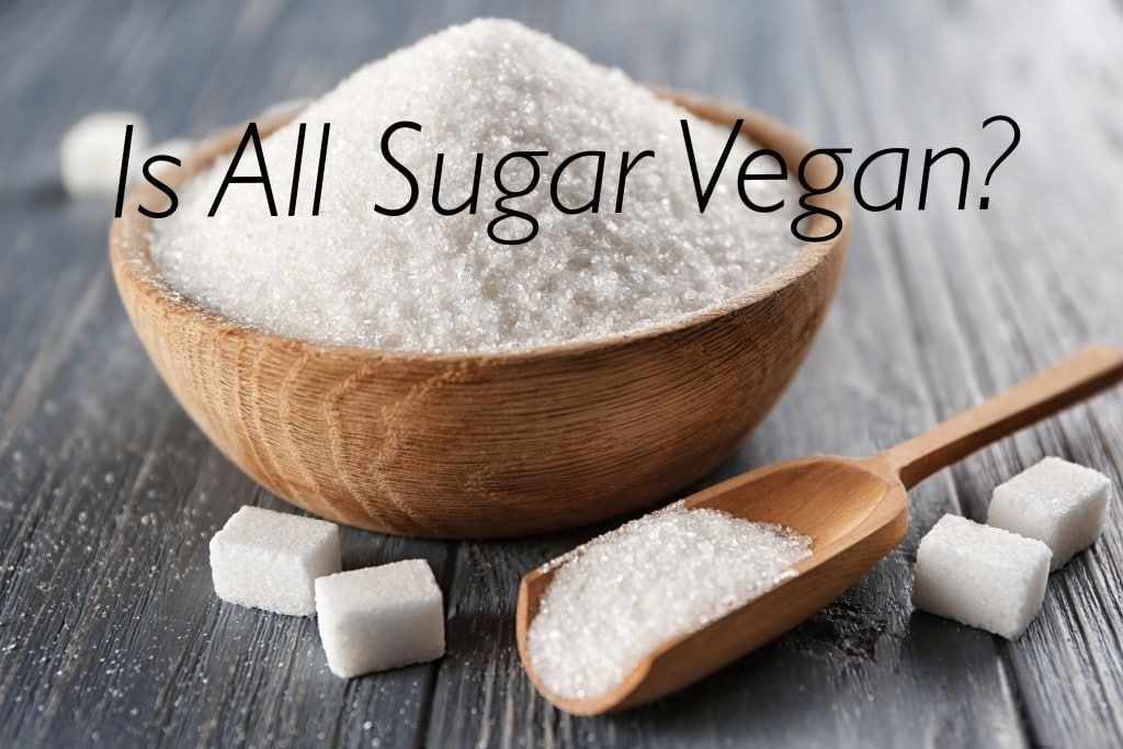 Is sugar vegan?