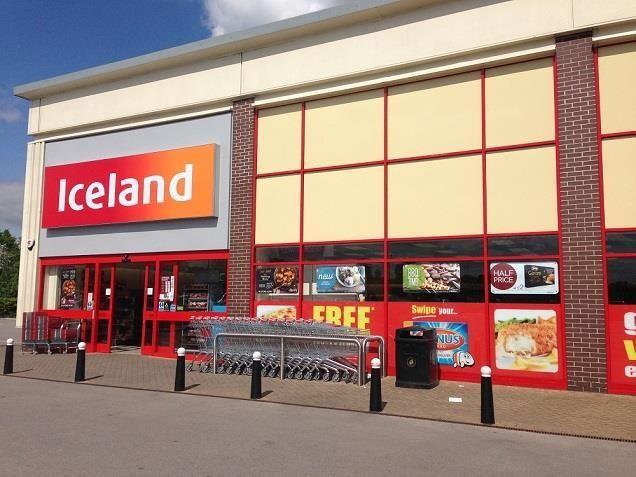 Iceland Shop Front