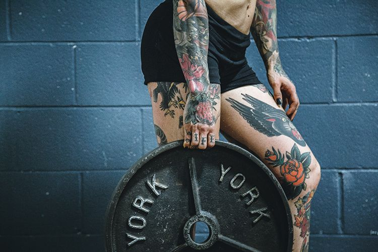 Tattooed Athlete