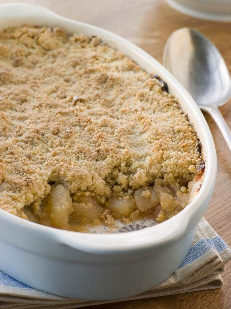 Bramley Apple Crumble Recipe