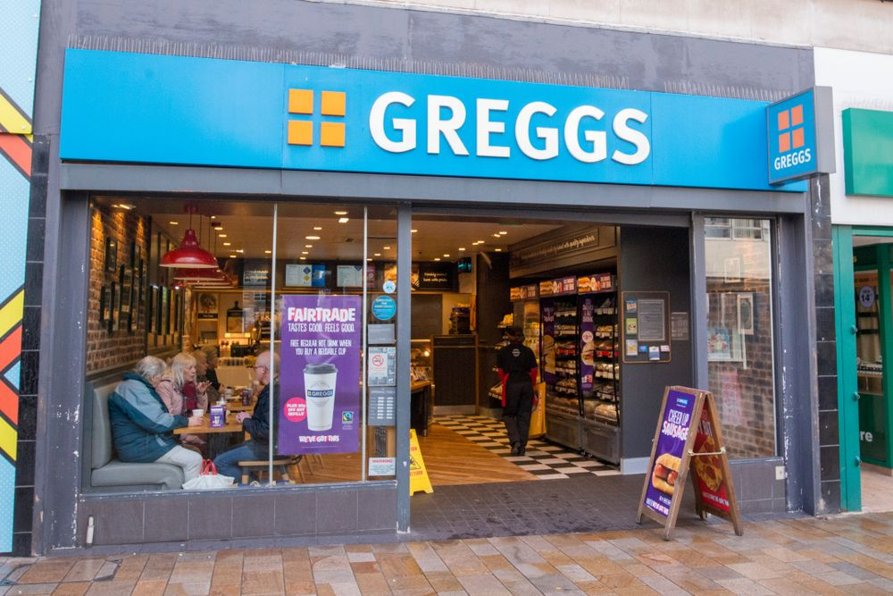 Greggs Store Front