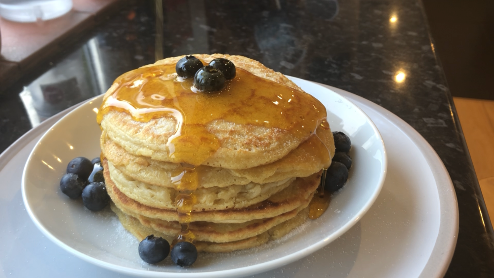 american style fluffy pancakes