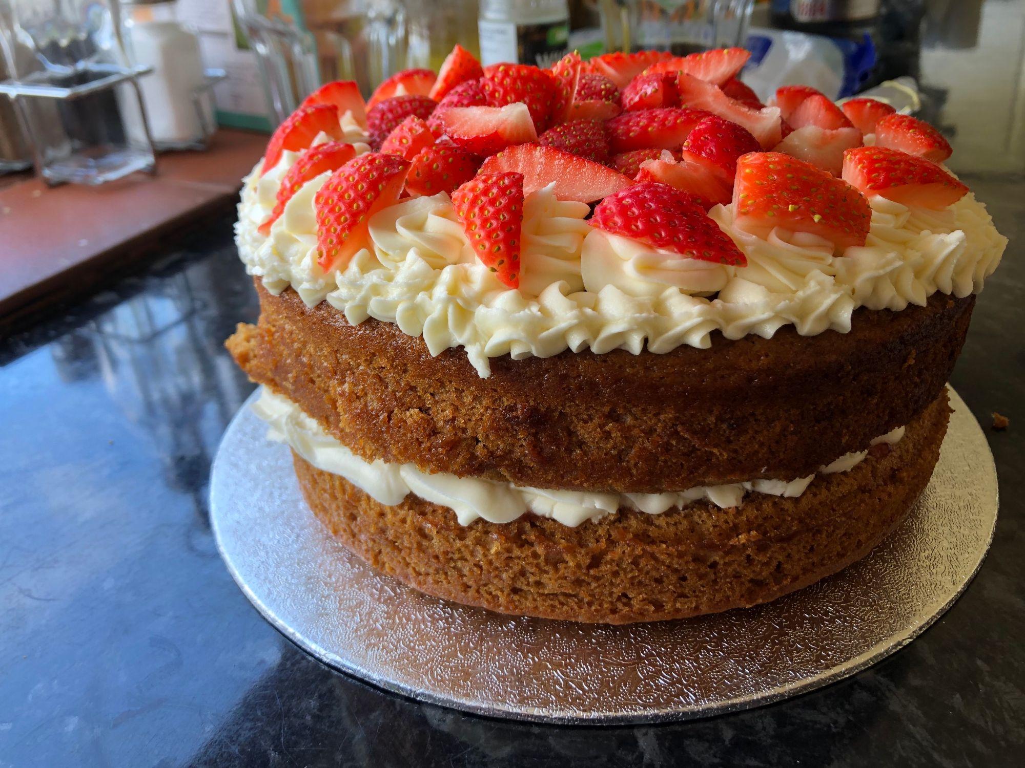 Vegan Victoria Sponge Cake