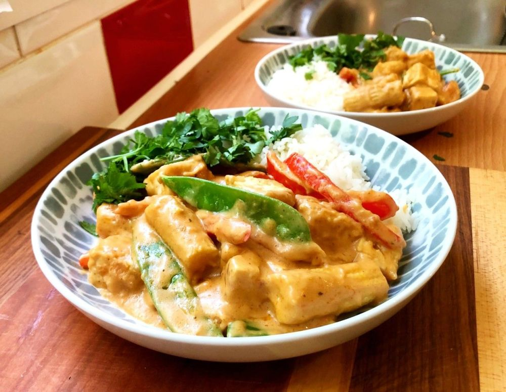 Tofu Peanut Curry