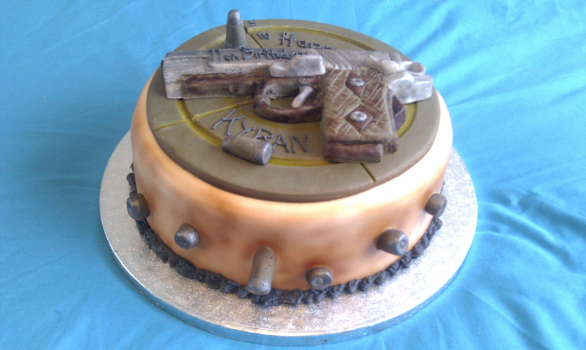 cake-with-a-pistol