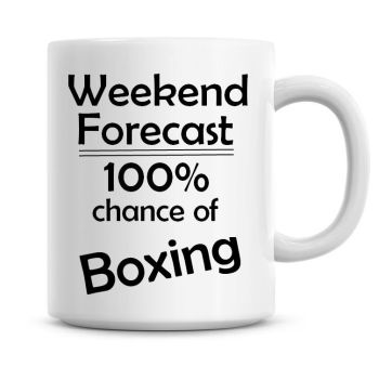 Weekend Forecast 100% Chance of Boxing