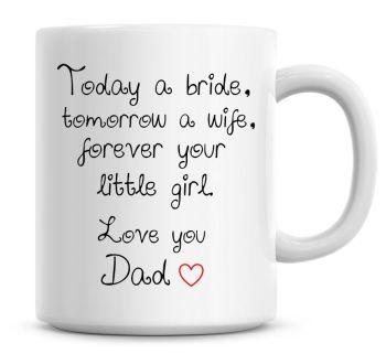 Happy 1st Fathers Day Cute Fathers Day Coffee Mug