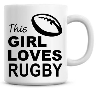 This Girl Loves Rugby Coffee Mug