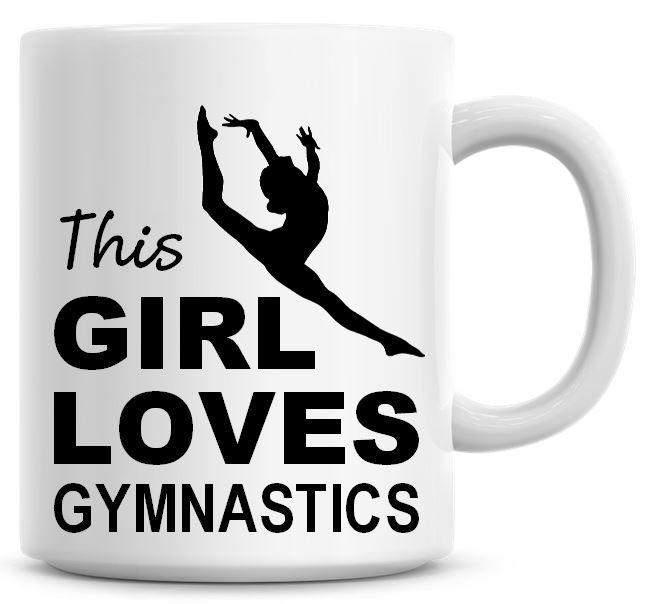 This Girl Loves Gymnastics Coffee Mug