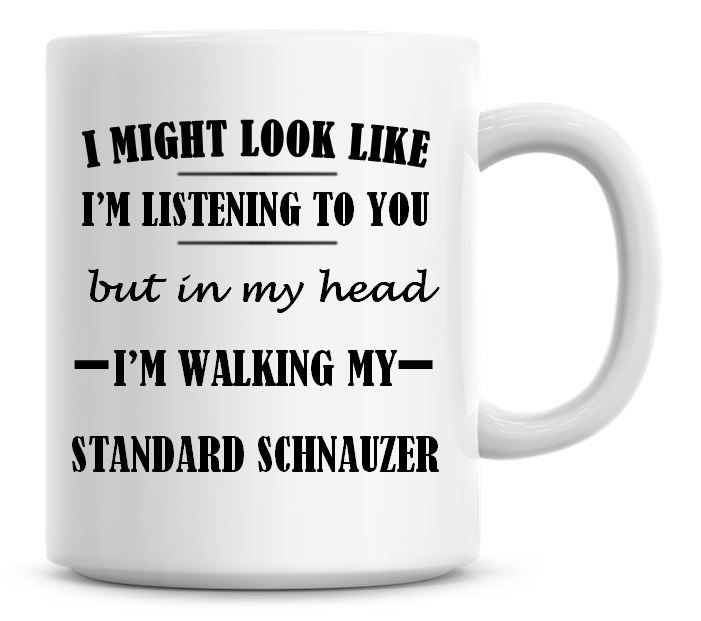I Might Look Like I'm Listening To You But In My Head I'm Walking My Standa