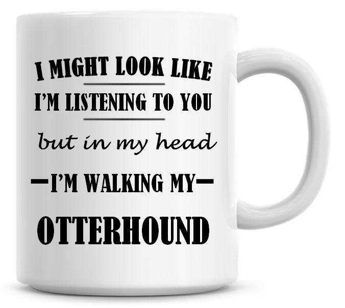 I Might Look Like I'm Listening To You But In My Head I'm Walking My Otterh