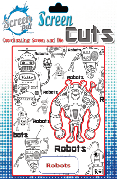 Screen pal Screen Cuts - Robots screen cuts : SALE !
