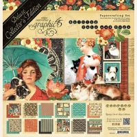 Graphic 45 Raining Cats and Dogs Deluxe Collectors Edition