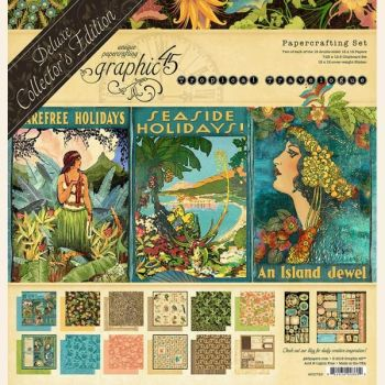 Graphic 45 Tropical Travelogue Deluxe Collector's Edition
