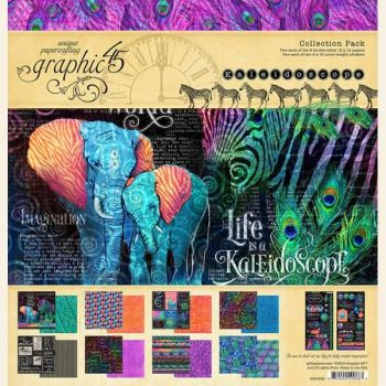 Graphic 45 Kaleidoscope 12x12 Collection Pack
