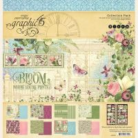 Graphic 45 Bloom 12x12 Collection Pack