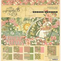 Graphic 45 Garden Goddess 12x12 Collection Pack