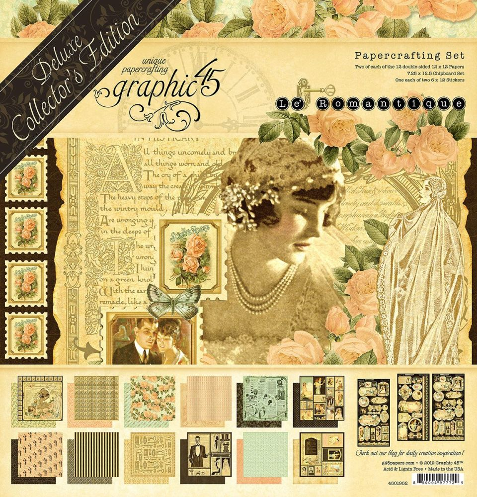 Graphic 45 - Le Romantique Deluxe Collector's Edition