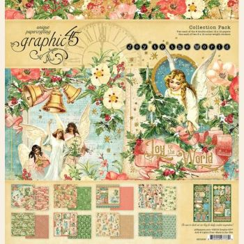 Graphic 45 Joy to the World 12x12 Collection Pack