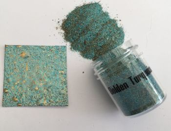 Golden Turquoise Creative Crystals