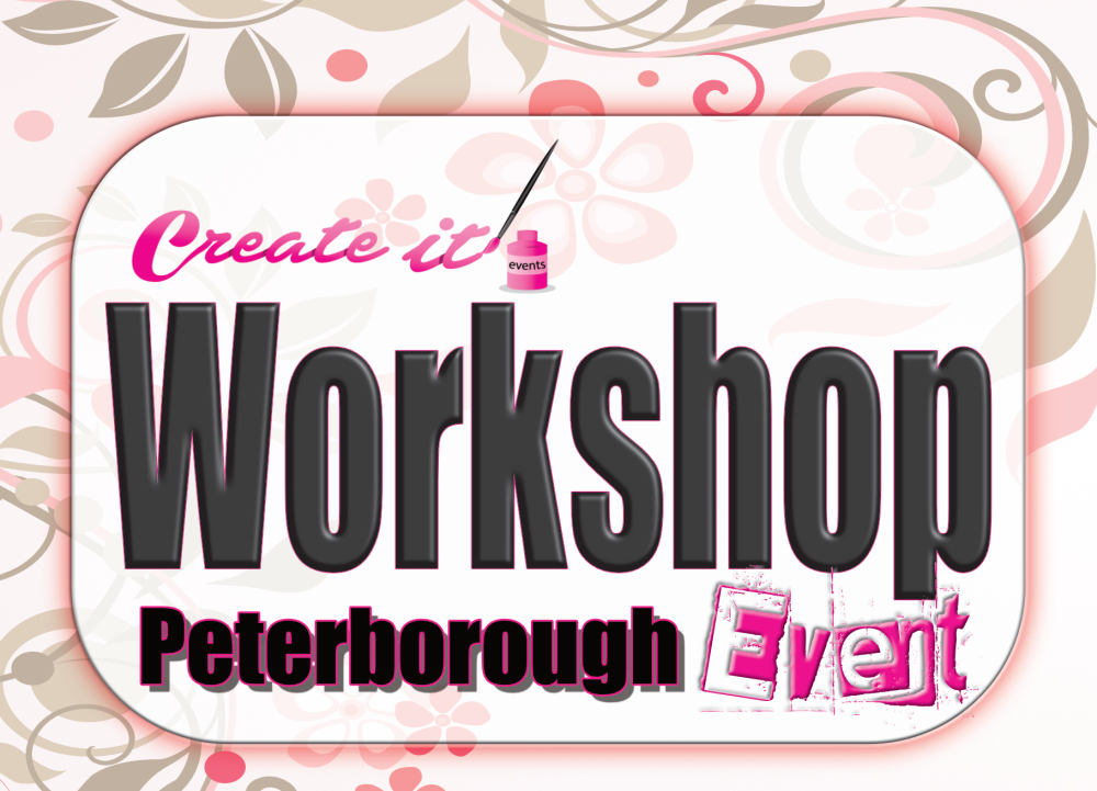 Create it Workshop Event - Peterborough