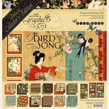 Graphic 45 Bird Song Deluxe Collector's Edition