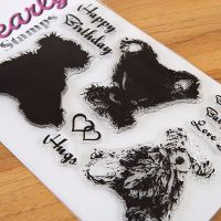 A5 Tilly the Bear Multi Layer stamp set